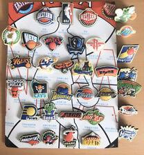 More details for nba basketball crest enamel pin badge joblot x 33