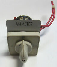 Electroswitch ? 014-61 Ammeter Switch Used Cut Out