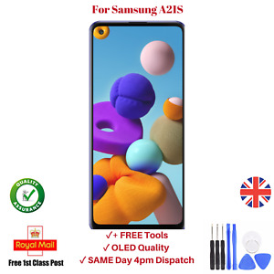 For Samsung A21s A217F Replacement OLED Display Touch Screen Assembly Digitizer