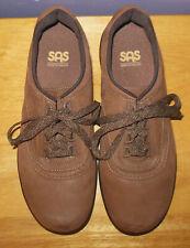 SAS Tri-Pad Comfort Walk Easy Women's Walking Shoes Chocolate Nubuck 8.5 M