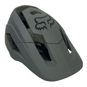 Fox Bicycle Racing Metah Solids Mountain Bike Helmet Matte Gray XS/Small