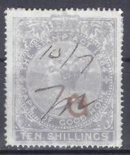 Griqualand revenue 10 Shillings green 1874 Cape of Good Hope South Africa fiscal