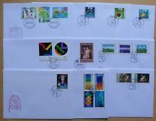Liechtenstein LOTTO DI 10 lettere da 1997-2005 - Arte e dipinto!