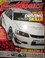 Fast4s 2012 Honda Integra Datsun 1600 Mazda 3 Subaru Legacy WRX STi EVO 8 Silvia