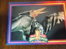 1994 Mighty Morphin Power Rangers Pterodactyl Trading Card No. 12