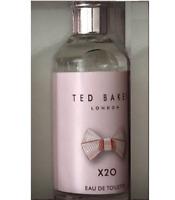 Ted Baker X2O for Women edt Eau de Toilette 10ml Mini Bottle - Brand New