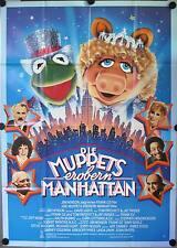 Die Muppets erobern Manhattan Filmposter A0 The Muppets Take Manhattan Kermit