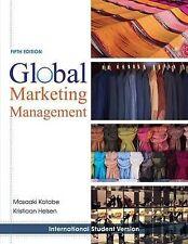 Global Marketing Management by Kristiaan Helsen, Masaaki Kotabe (Paperback,...