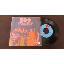 ZOO - What Am I to Be / Four Strings French 7 Psych Prog 72