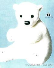 ORSO Bianco Polare Peluche set completo pupazzo da cucire costruire taglia 38cm