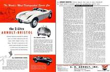Arnolt Bristol Competition & Deluxe (c1956) - The World's Most Distinguished Spo