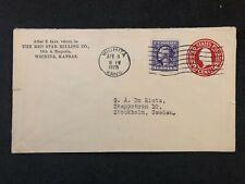 Cover United States USA Wichita Kansas 1926 Stockholm Red Star Milling Co