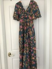Vintage 70s Nicole Creations Dress SZ 10