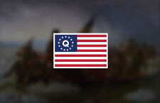 Bogo Qanon Flag Decal Q Anon Sticker wwg1wga
