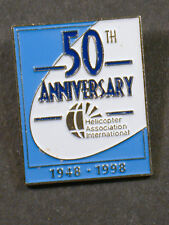 PIN HELICOPTER ASSIOCATION INTERNATIONAL 50TH ANNIVERSARY 1948-1998 (AN1192)