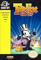 FELIX THE CAT NES NINTENDO GAME COSMETIC WEAR