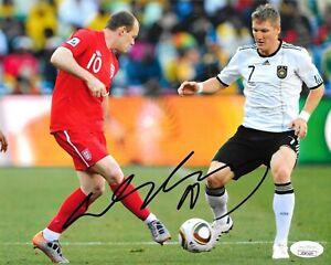 Wayne Rooney Manchester United signed England 8x10 photo autographed JSA