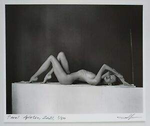flexible girl by Pavel Apletin, pigment print signed limited female fine art
