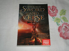 SWORD AND VERSE by KATHY MACMILLAN   -ARC-   -FM-