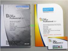Office 2007 Professional MLK  - ORIGINAL MICROSOFT LIZENZ - KEINE E.S.D.