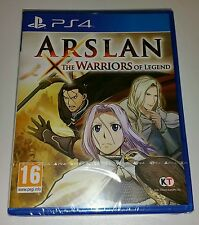 Arslan The Warriors of Legend PS4 New Sealed UK PAL Sony PlayStation 4 Anime