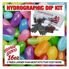 Hydrographic dip kit Jelly Beans hydro dip dipping 16oz