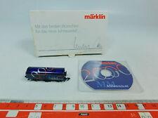 AU587-0,5# Märklin mini club Escala Z/DC Vagón de mercancía Millennium 2000, s.G