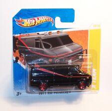 HOT WHEELS Mattel 2011 SC Short Card TV Related THE A TEAM GMC VAN - MOC