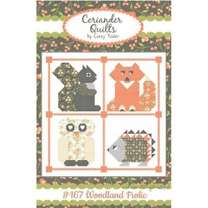 Woodland Frolic Quilt Pattern by Corey Yoder of Coriander Quilts #167