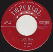"THE BEES - ""TOY BELL"" b/w ""SNATCHIN'BACK"" on IMPERIAL-Dave Bartholomew group VG+"