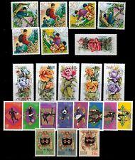 BHUTAN stamps,MH & USED NICE LOT,CV:$30.00