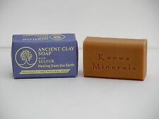 Zion Health Ancient Clay Soap with Sulfur 6 oz, 170g