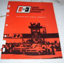 1969 Hurst x ref catalog-- Old #s to New like S/L  CV-55 to 290-6050- 12 pages