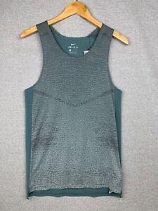 Nike Dri-Fit Run Division Pinnacle Knit Running Tank Vest, DA1296-387, Sz Small