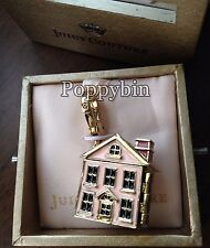 RARE! BRAND NEW! JUICY COUTURE HOME SWEET HOME BRACELET CHARM IN TAGGED BOX
