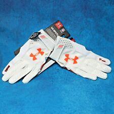Under Armour UA Spotlight Football Gloves State of Texas Unisex Size XL White