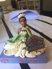 """Enesco Disney Traditions - The Princess and The Frog Tiana """" Be Independent"""