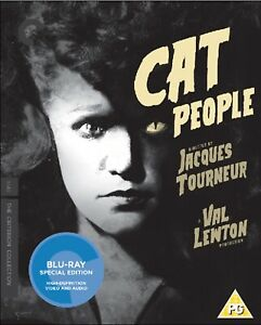 * CAT PEOPLE ( 1942 ) THE CRITERION COLLECTION BLURAY BRAND NEW & SEALED *