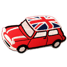 Patches - Mini Cooper UK - rood - 7,5x5,3cm -  Lap