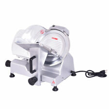 """10"""" Electric Commercial Meat Slicer Blade Deli Meat Cheese Food Slicer Cutter"""
