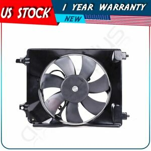 A/C Condenser Fan Assembly For 2006 2007 2008 2009 2010 2011 Honda Civic