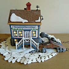 """New ListingRetired Department 56: New England Village: navigational charts and maps"""" #56575"""