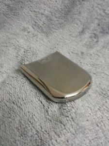 Nokia 8800 Handy Gehäuse chrom silber #1 BC phone case A cover housing silver