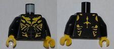LEGO Star Wars - Minifig, Torso Savage Opress Pattern - Black (Savage Opress)