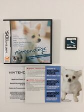 Nintendogs Chihuahua Nintendo DS CIB Complete Auth Tested