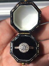 Beautiful Platinum Diamond Halo Engagement Ring