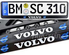 Volvo Euro Standart License Plates Fits All XC90 XC60 XC70  EW Frames 2 pcs.