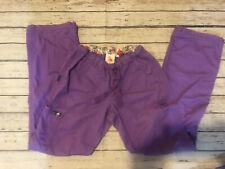 Koi Lindsey Lavender/purple Scrub Pants Sz Xs Tall