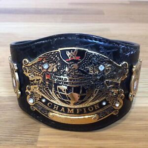 Miniature World Wrestling Entertainment Belt. Metal with Diamante Studs #327