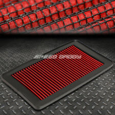 FOR 09-15 HONDA PILOT SUV RED REUSABLE&WASHABLE HIGH FLOW DROP IN AIR FILTER